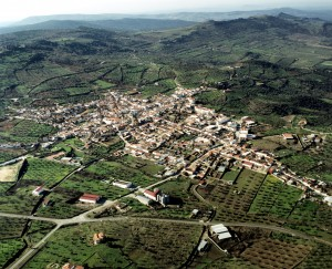 Salvatierra - vista aérea