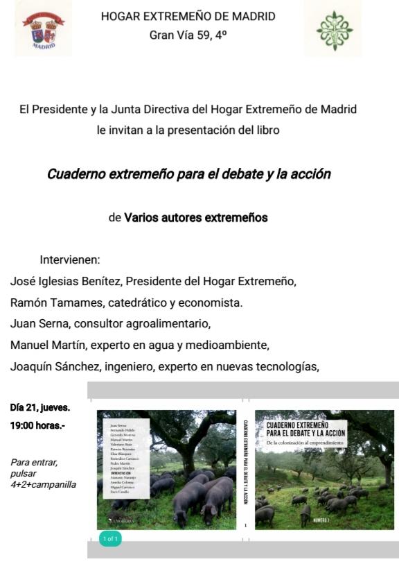 Extremadura se merece que las reflexiones contenidas en este libro sean  conocidas por todos. Reflexionar en torno a nuestros problemas es la única  manera de ... d572d22427923